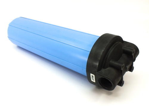 "Water Filter System 20"" x 4.5"" with 100 PSI Pressure Gauge, Valve and Plug"