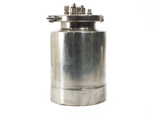 Stainless Steel Liquid Pressurized Tank with Various Ports 0.04 Gal