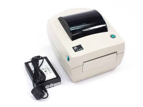 Zebra 2844-20300-0021 LP2844 Thermal Label Printer USB Parallel w/ Power Supply
