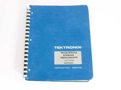 Tektronix 7623A/R7623A  Storage Oscilloscope w/ Service Option Instruction Manual