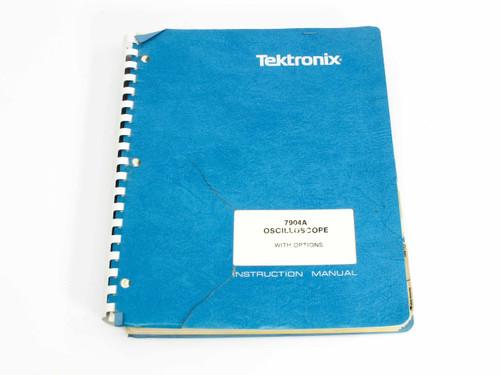 Tektronix 7904A  Oscilloscope with Options Instruction Manual