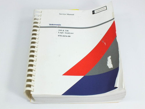 Tektronix 318/338  Logic Analyzer Service Manual