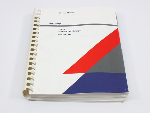 Tektronix 2247A  Portable Oscilloscope Service Manual