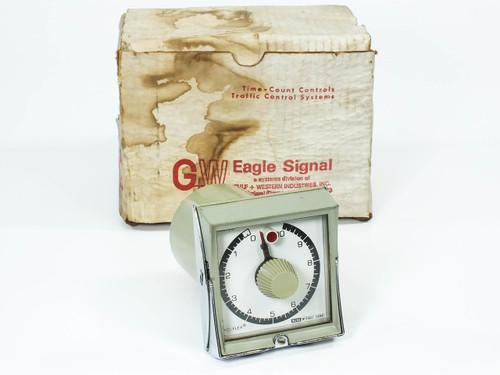 Eagle Signal HP54A6 HP5 CYCL-FLEX Reset Timer 0 - 10 MIN 120 VAC