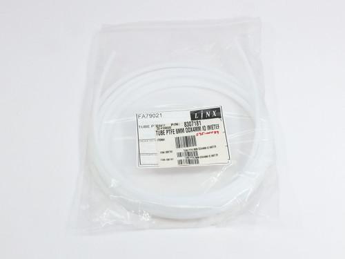Linx FA79021  PTFE Tube 6mm OD x 4mm ID NATURAL 6200 Ink Jet Printer Diagraph