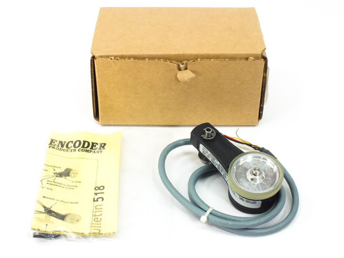 "EPC TR1-U1R4-5000NV1OD-F03  ACCU-CODER Liner Encoder 6"" Cir 6mm Shaft 5-28 VDC"