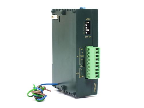 Panasonic AF0-A21-A  Analog Signal Processing Unit 2-Inputs AFP0480-A 24VDC