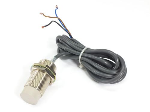 Omron Proximity Sensor 18mm 3-Wire DC 12 to 24 VDC M30 E2E2-X18MC1 2M