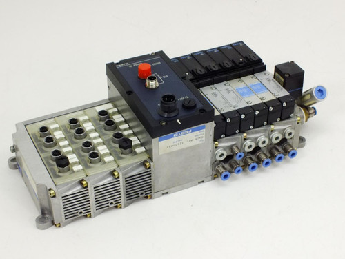 Festo Field Bus Node with VIGI-03-4.0 Solenoid Valves VIGE-03-FB-8 (IFB9-03)