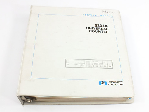 HP 5334A  Universal Counter Service Manual