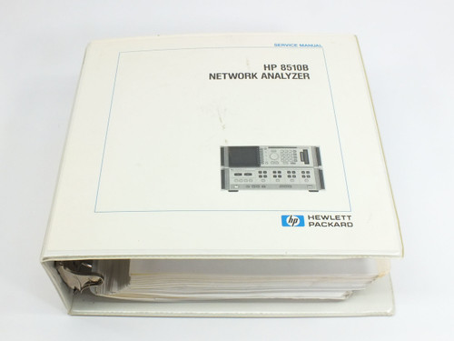 HP 8510B  Network Analyzer Service Manual