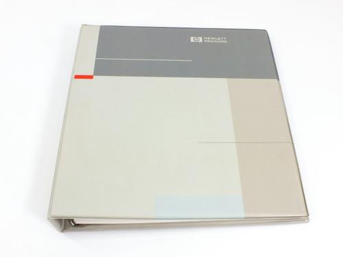 HP 8566B  Spectrum Analyzer Installation and Verification Manual