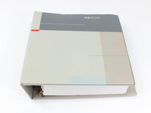 HP 8560 E-Series  Spectrum Analyzer User's Guide