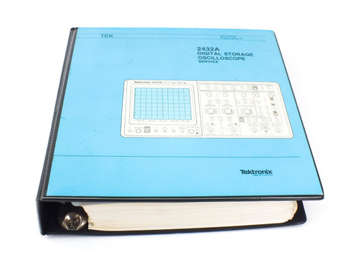 Tektronix 2432A  Digital Storage Oscilloscope Service Manual