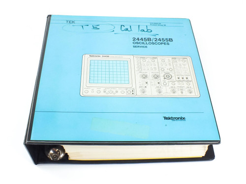 Tektronix 2445B/2455B  Oscilloscopes Service Manual