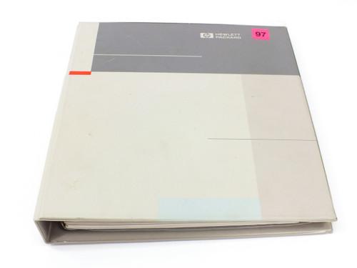 HP 54501A  100 MHz Digitizing Oscilloscope Service Manual