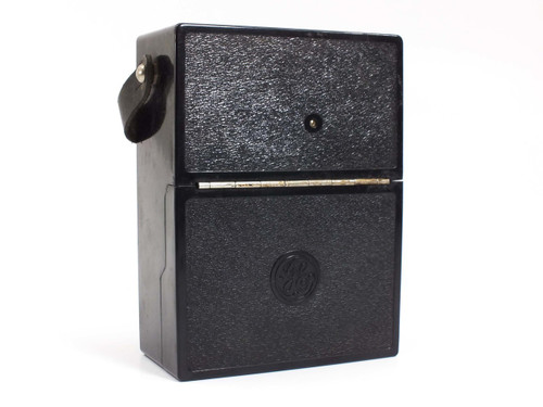 GE 8AP9ABT10  Vintage AC Amperes  Meter 0 - 300 Type AP-9 8AP9A-BT10