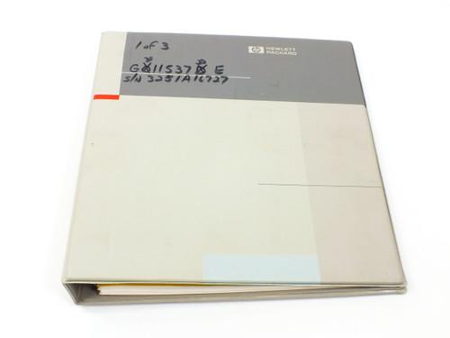 HP 54501A  Digitizing Oscilloscope Service Manual