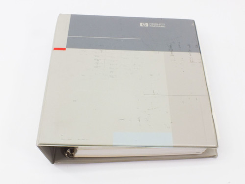 HP 8568B  Spectrum Analyzer 100Hz - 1.5GHz Operating & Programming Manual