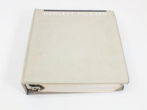 HP 8566B  Spectrum Analyzer 100 Hz - 2.5 GHz/2 - 22 GHz Op. & Prog. Manual