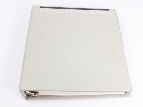 HP 3852A  Data Acquisition/Control Unit Mainframe Configuration & Prog. Manual