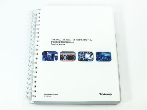 Tektronix TDS 500D/600C/700D/714L  Digitizing Oscilloscopes Service Manual