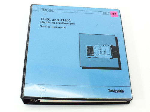 Tektronix 11401/11402  Digitizing Oscilloscopes Service Reference Manual