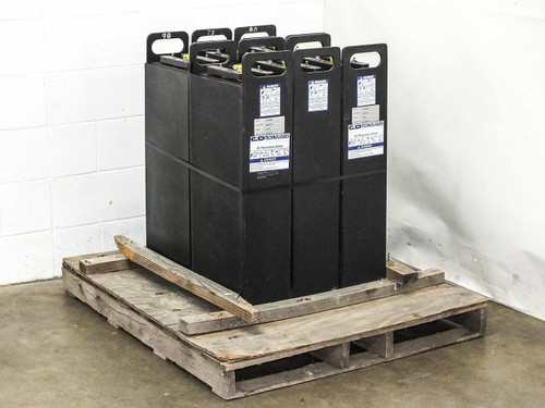 C&D Technologies CPV2500 Lot of 6 CP 12 Volt Off-Grid Solar Battery System