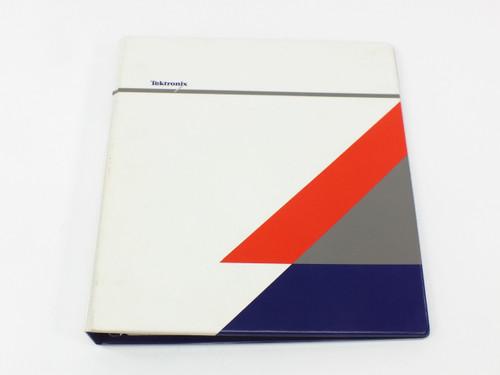Tektronix Slave Scanner Module Operating Manual VX4372