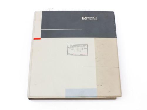 HP 54112D  Digitizing Oscilloscope Service Manual