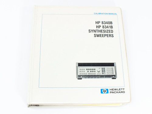 HP 8340B - 8341B  Synthesized Sweepers Calibration Manual Vol.2