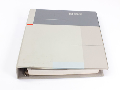 HP E1313 & E1413  High Speed Scanning A/Ds User's Manual with Driver Disks