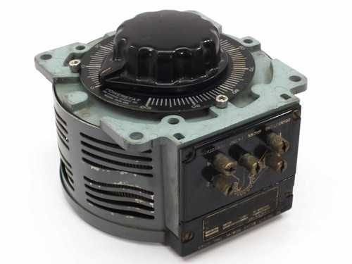Powerstat Spec BP57515 Type 136 Variac Variable Autotransformer 120VAC 20 Amp