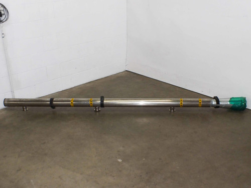 "Steel 4 Inch  Steel Manifold with 3 2"" Wide openings"