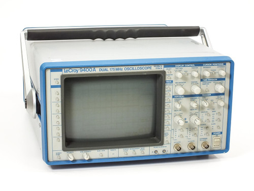 Lecroy 9400A  Dual 175MHz Digital Oscilloscope - Bad CRT Monitor AS-IS