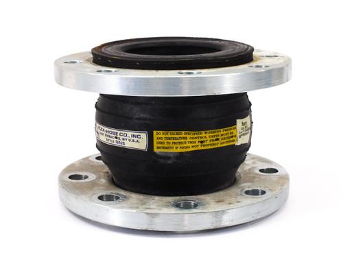 "Flex-Hose Co Flexzorber 4"" Single Sphere Flanged Expansion Joint"