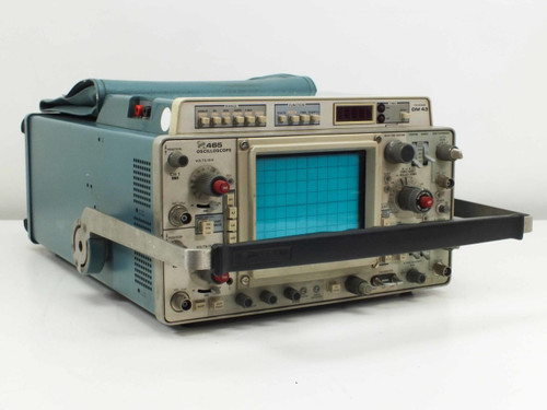 Tektronix 465  Two Channel Oscilloscope with DM43 Multimeter AS-IS No Scope Power
