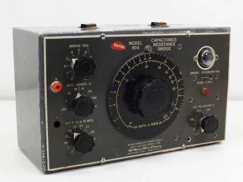 McMurdo Silver Capacitance Resistance Bridge 10MMFD - 1000MFD (Model 904)