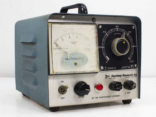 Headway Research EC101 Photo-Resist Spinner Controller EC100A Vintage 1970