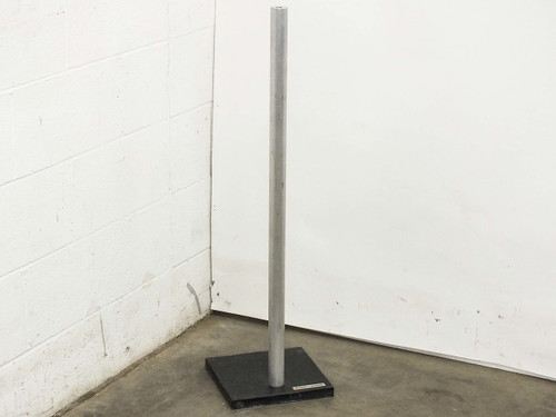 "Bausch & Lomb Microscope  Stand Extra Tall 36"" Mounting Post with 10"" x 10"" Base"