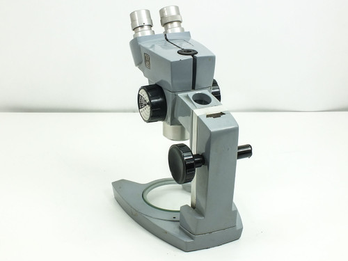 American Optical Spencer  Microscope with Focus Block and Stand -AS IS- Broken Knob