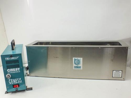 Crest Ultrasonics 4G-250-3 Genesis Ultrasonic Generator with 0.85CF Tank 4NT.730.3