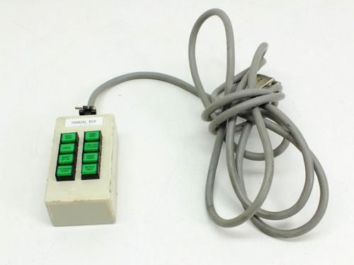 Custom   Manual Control Box eight key system