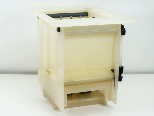 """Generic Wafer  Benchtop Cleaning Bath Box Washer O.D. = 14"""" x 14"""" x 18"""""""