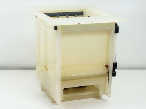 "Custom Wafer  Benchtop Cleaning Bath Box Washer O.D. = 14"" x 14"" x 18"""
