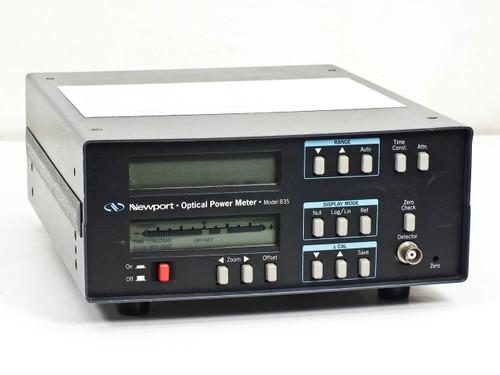 Newport Research 835 Optical Laser Digital Power Meter *AS-IS* Bad Display