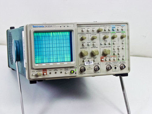 Tektronix 2430A Digital Oscilloscope 150MHz100MSa/s -AS-IS Damaged Internals