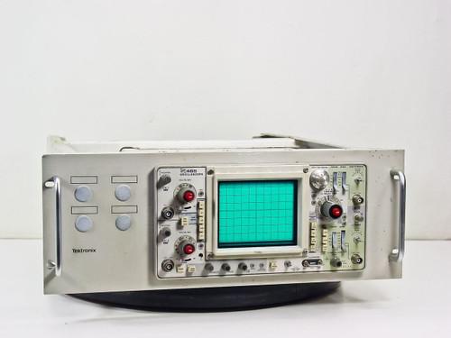 "Tektronix 465 Oscilloscope 2-Channel with 19"" Rackmount Frame"