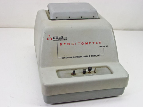 EG&G Inc Sensitometer Vintage for Parts Mark VI