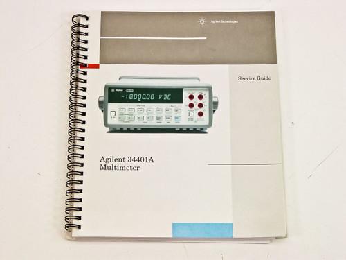 Agilent 34401A  Service Guide Edition 5